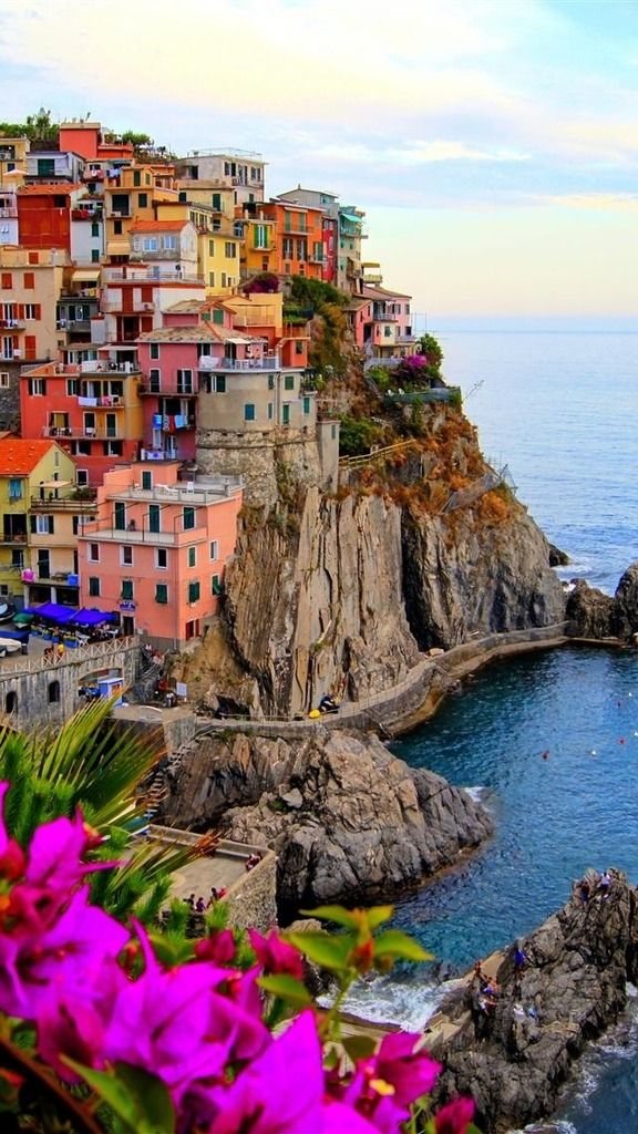 Something like Serenity (Portofino, Italy) Let's go here someday. With the wind beneath our wings it won't take long, and once we're there we'll look along the shore and wonder why we ever waited to leave.❤️