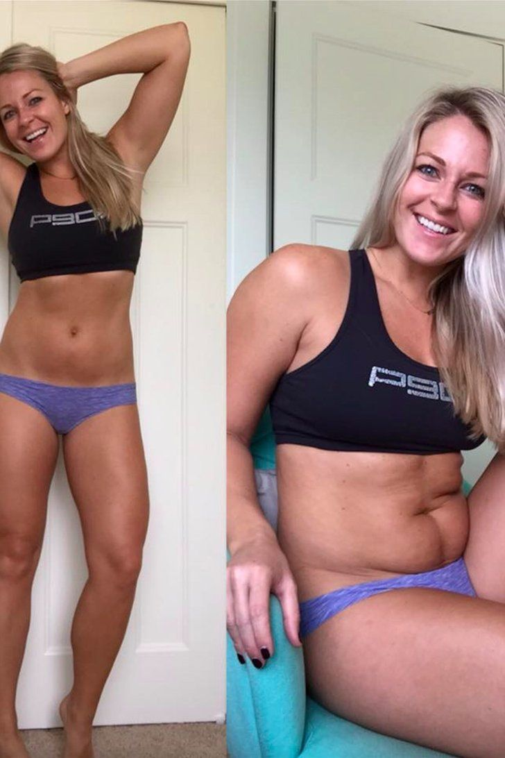 Fitness Model Takes a Seat to Show Her Followers That Everyone Has Unflattering Angles