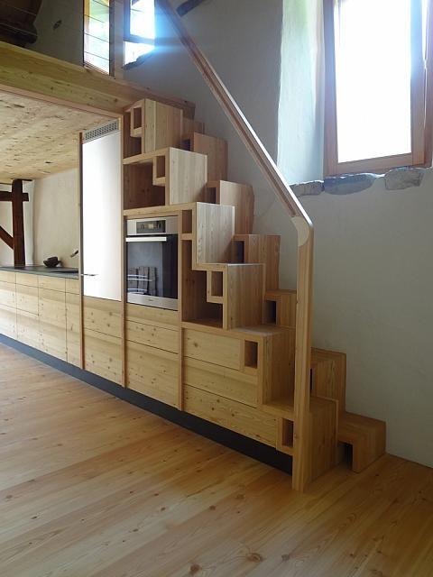 escalier a pas alterne - escalier japonais