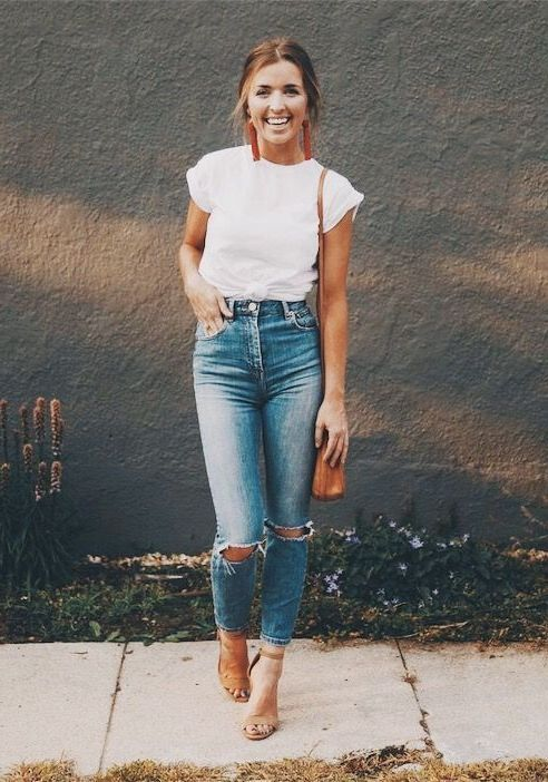 Outfits White T-Shirt 3