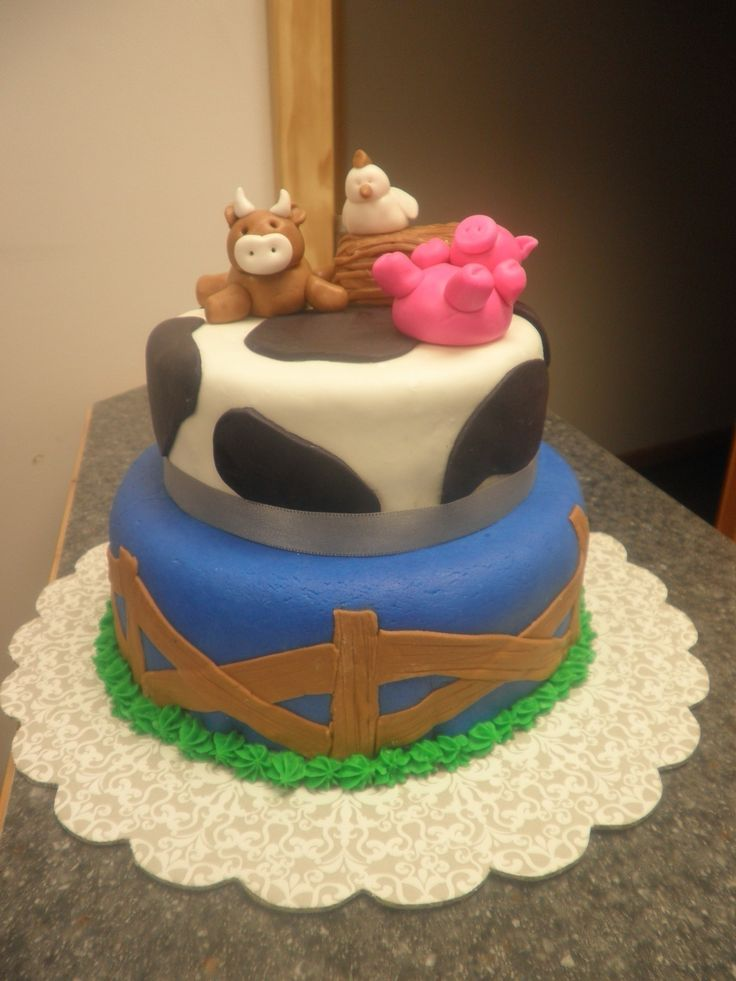 Animal Birthday Cakes