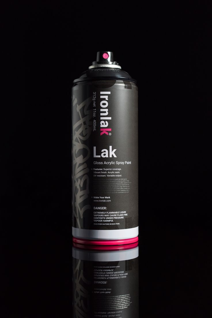 The best spray can in the world is here. Learn more about the new Lak by Ironlak – Gloss Acrylic Spray Paint. Created for graffiti writers and artists.