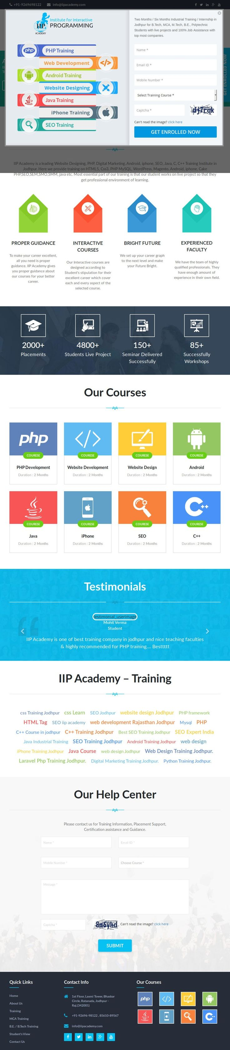 34 best wscubetech images on pinterest web development company iip academy a leading it training academy in jodhpur which provides many lucrative courses web development companyjava tutorialtraining baditri Images