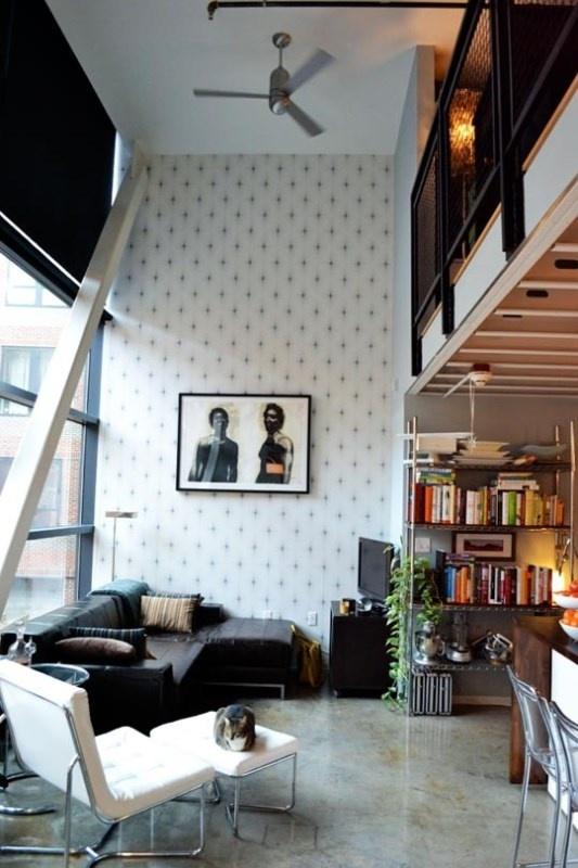 Βιομηχανική διακόσμηση στα lofts   Jenny.gr