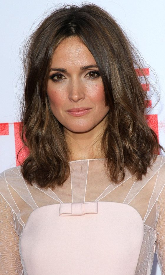 Mid-Length Hairstyles: Rose Byrne, 2013. color