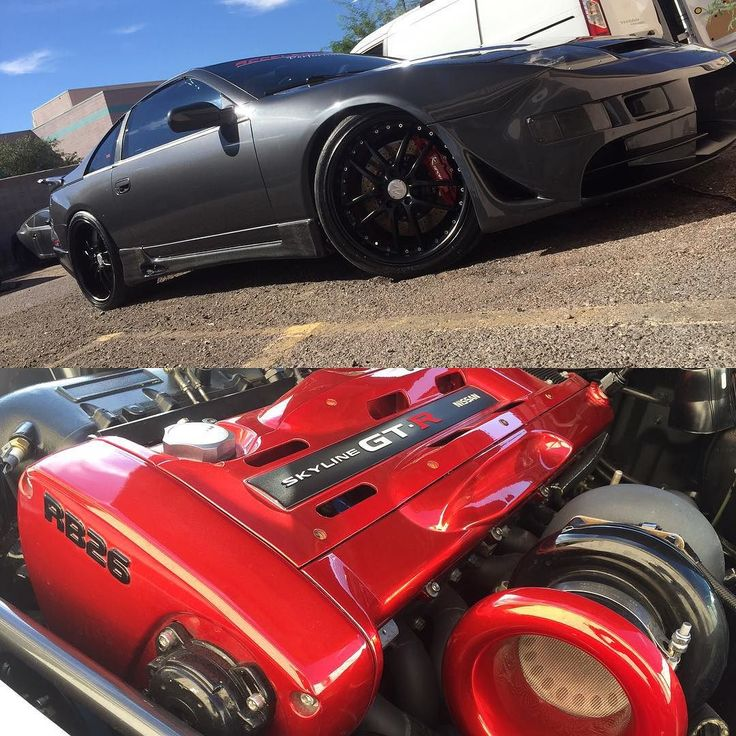 This #300zx is one #mean #ride! #engine swapped for a #nissan #skyline #rb26 #motor! #details by #autorunnersdetailing. #autorunners #autodetailing #carporn #detailersofinstagram #details #tuner #fast #feslernation #feslerdetail #arizona #phoenix #wax #waxedit #1990