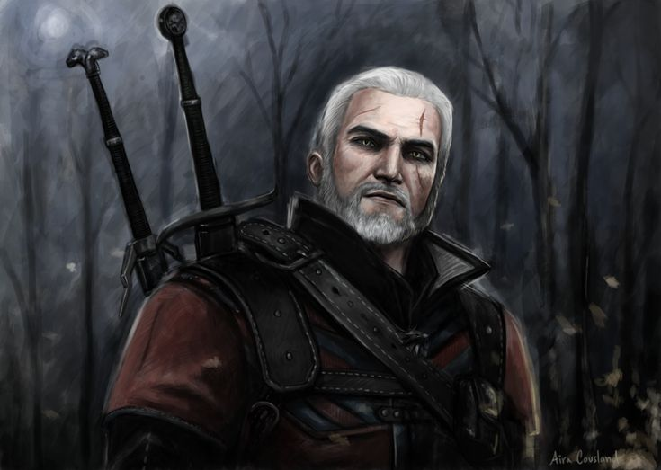Geralt of Rivia by AiraCousland.deviantart.com on @DeviantArt