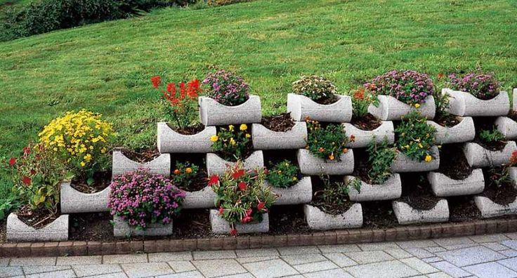 Semmelrock Flori rézsűkő - Építőanyag Turkáló