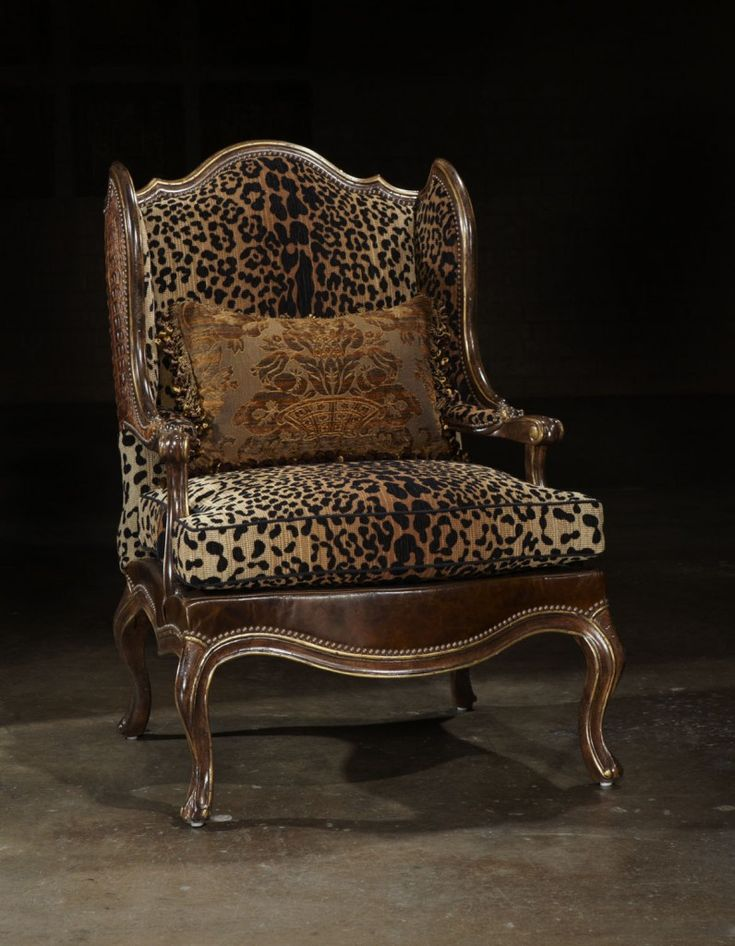 Amazing Cheetah Print Chair. Would Look Great In My Office!