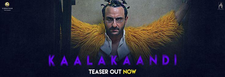 Kaalakaandi Official Teaser   Saif Ali Khan, Vijay Raaz, Deepak Dobriyal, Shobita Dhulipala, Kunaal Roy Kapur   Directed by Akshat Verma   Movie Releasing on 8th September 2017. #Kaalakaandi #SaifAliKhan #VijayRaaz #DeepakDobriyal #KunaalRoyKapur #AkshatVerma #CinestaanFilmCompany #FlyingUnicornEntertainment #ZeeMusicCompany
