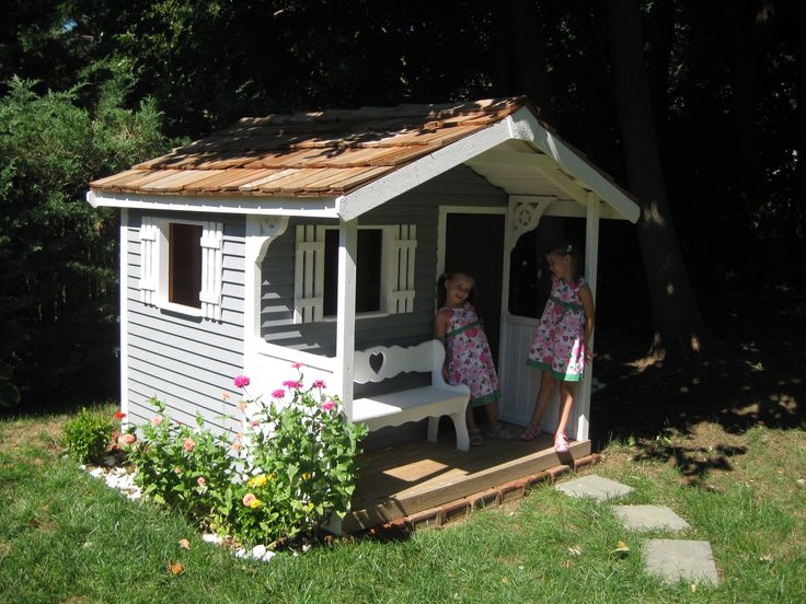 17 Best Images About Cedar Playhouse Kits On Pinterest