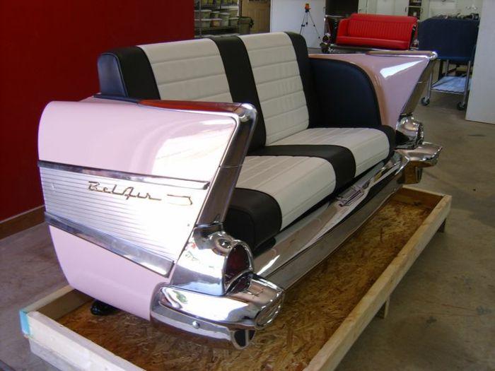 die besten 25 m bel aus autoteilen ideen auf pinterest autoteile autoteile deko und alte. Black Bedroom Furniture Sets. Home Design Ideas