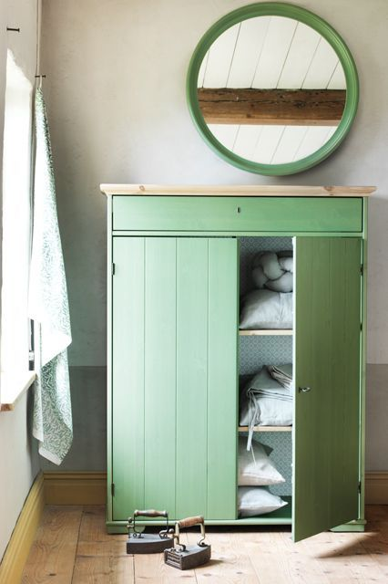 11 New IKEA Pieces We're Stalking From Its Fall Delivery #refinery29  http://www.refinery29.com/2014/07/71340/ikea-catalog-2015#slide-10  This linen cabinet is so versatile it can go in any room. HURDAL Linen Cabinet, $399, available in August....