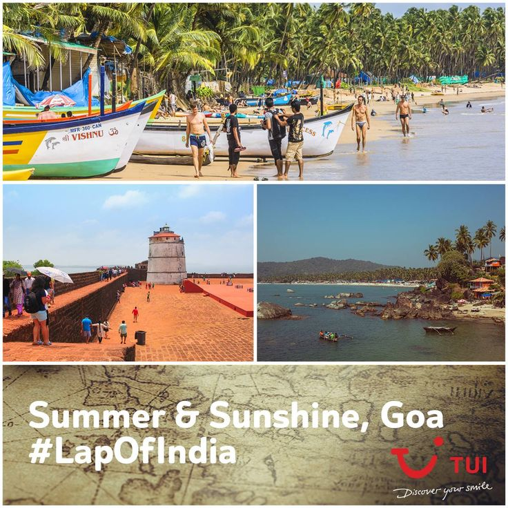 From the adventurous beach parties in Calangute, to sunbathing in Palolem; #TuiCar is exploring each part of the city. #LapOfIndia