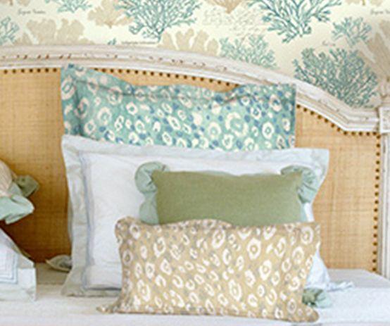 www.lot.com.tr Charleston Home  Kumaş kombinli duvar kağıdı