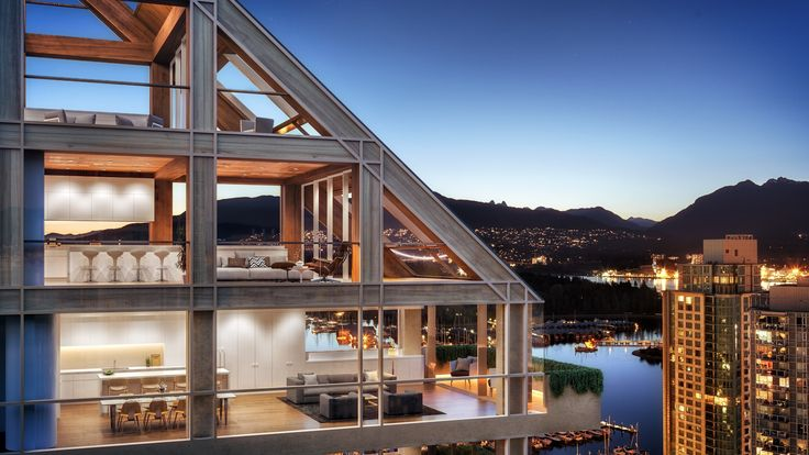 New Renderings Reveal Interiors of Shigeru Ban-Designed World's Tallest Hybrid Timber Building in Vancouver