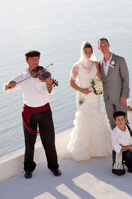 Wedding Musicians In Santorini