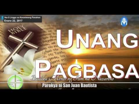 "Sunday TV Mass ""Quaipo Black Nazarene"" January 22, 2017"