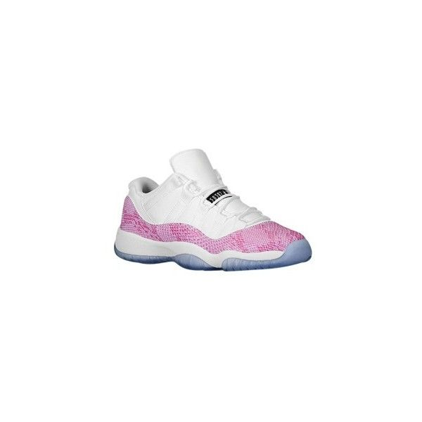 Jordan Retro 11 Low Girls' Preschool ($70) ❤ liked on Polyvore featuring shoes, sneakers and jordans