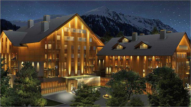 Luxury Swiss Hotel | The Chedi Andermatt Hotel Ski Resort Switzerland