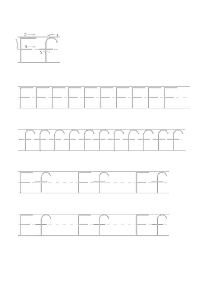 Actividades para niños preescolar, primaria e inicial. Imprimir fichas de caligrafia con el abecedario para niños de preescolar y primaria. Caligrafia Abecedario. 6
