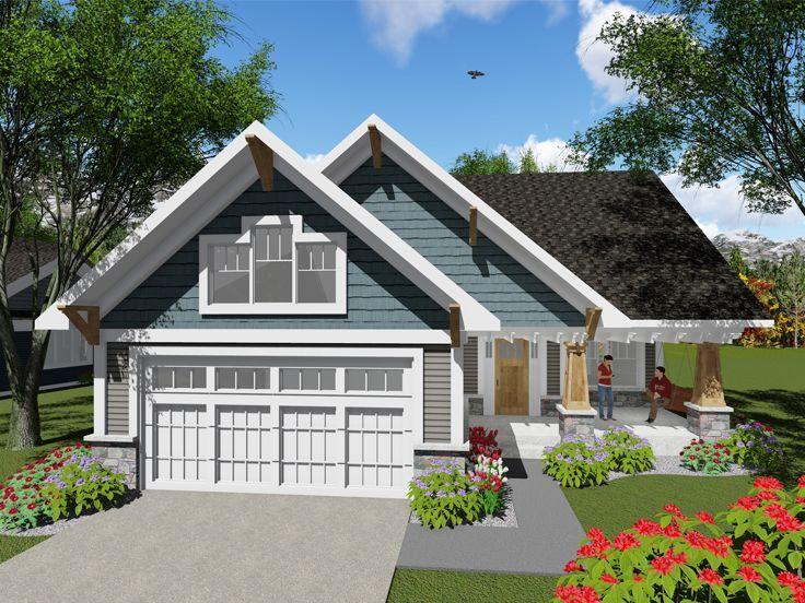 95 best Bungalow House Plans images – Bungalow Garage Apartment Plans