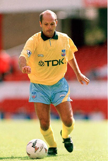 Ray Wilkins of Crystal Palace in 1994.