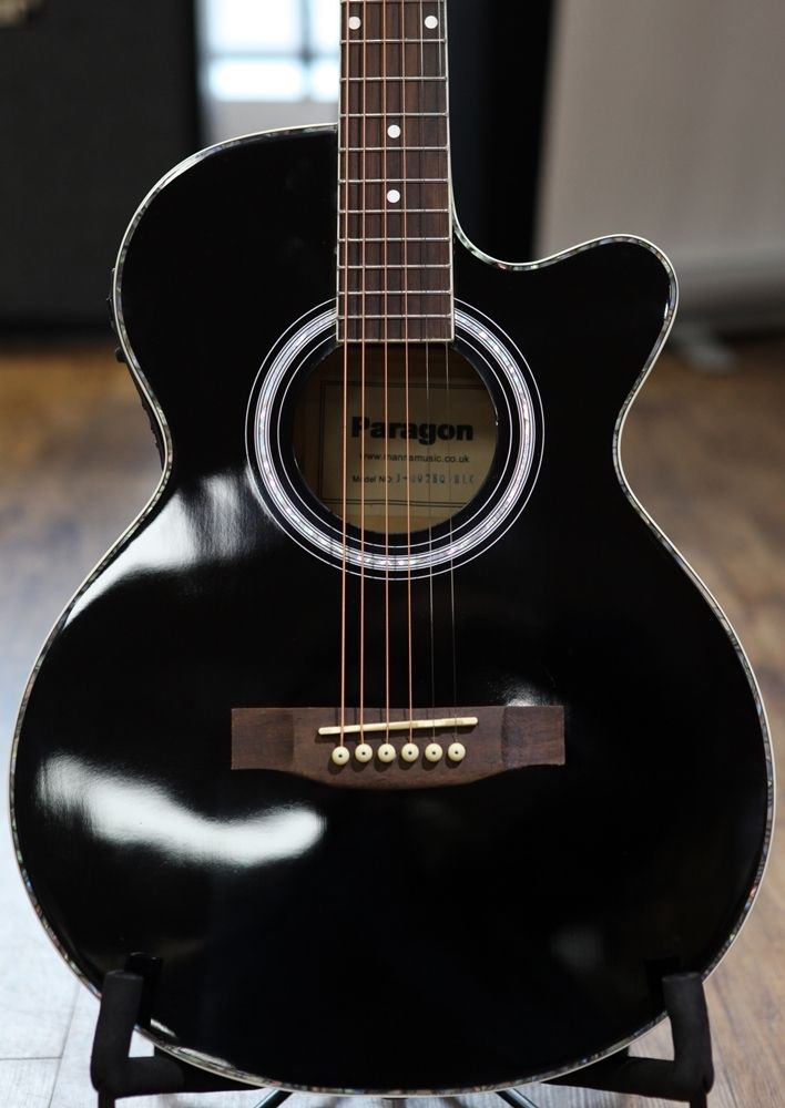 Guitars > Acoustic Guitars > Paragon J002EQ Electro Acoustic Guitar
