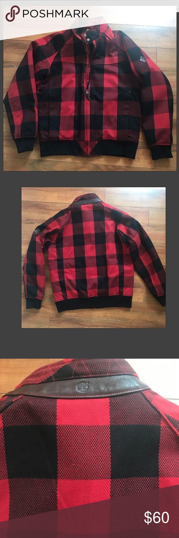 Timberland 🌳 plaid waterproof Jacket Great condition Timberland Jackets & Coats Raincoats