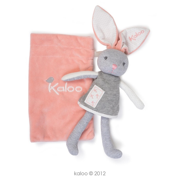 Kaloo Zen Coral Rabbit Comforter