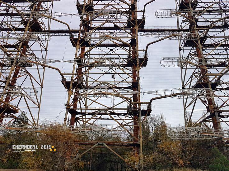 Chernobyl exclusion zone. OTH (over the horizon) radar Duga.  ©Juri 2016 https://www.facebook.com/pripyat.a.ghost.town/