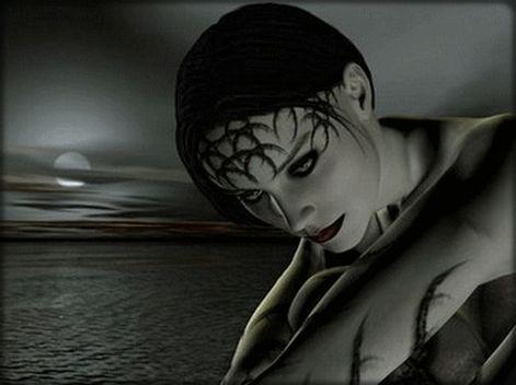 Centerblog tubes divers gothique google keres s dark gothic hd wallpaper image pinterest - Photo romantique noir et blanc ...