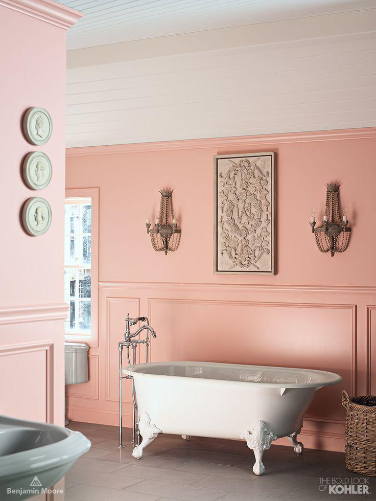 Pretty Pink Benjamin Moore Paint In Fruit Shake Kohler
