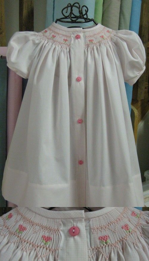 """Smocked Bishop by Creations by Michie w/Kathy Crisp """"Mini More"""""""