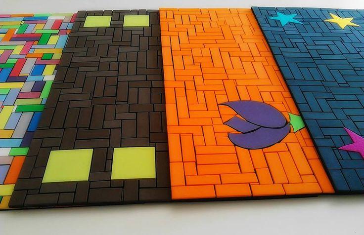 ¡Un lujo las alfombras de goma eva en mosaico, son únicas!! Oferta!!! #alfombras #gomaeva #mosaico  www.divinaartedecora.wix.com/divinamandala