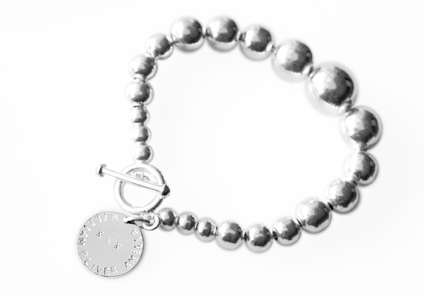 AMELIA is one of the bracelets in the koolaman designs lustrous silver seeds collection.This lustrous family of sterling silver bracelets and necklaces look stunning against any complexion and colouring. You will not want to take them off!    The AMELIA bracelet uniquely features  the graduated balls, starting with the small CHARLOTTE sized balls on the ends and featuring the large ball in the middle. $250 http://www.koolamandesigns.com.au/shop/amelia-bracelet-p-677.html