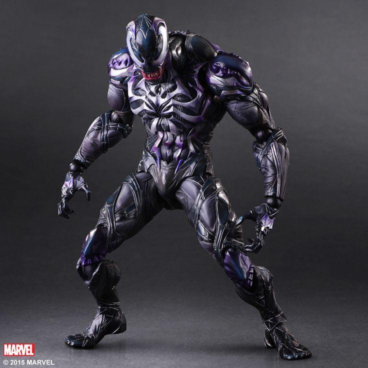 Marvel Comics Variant Play Arts Kai figurine Venom Square-Enix