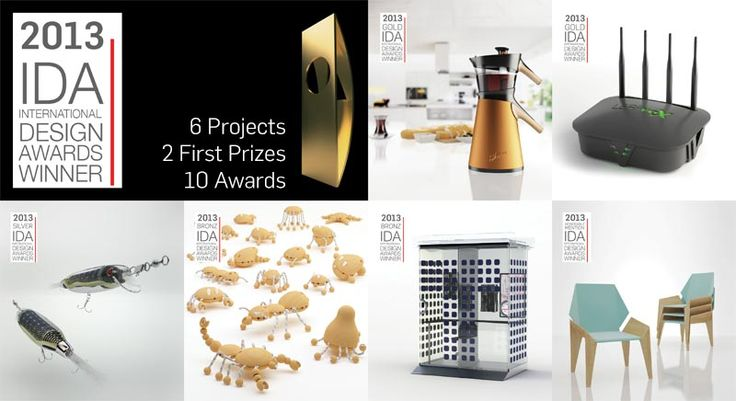 IDA - International Design Awards - 2013 Results.