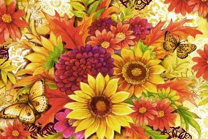 Fall Flowers Hz by Elena Vladykina
