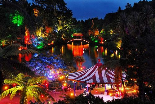 Festival of Lights, Pukekura Park, New Plymouth