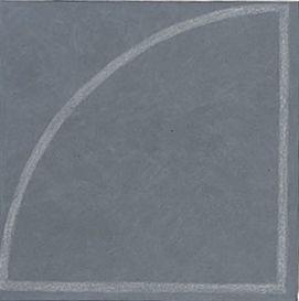 Raoul de Keyser, Krijthoek 190, Made of acrylverf en krijt op doek, 1977