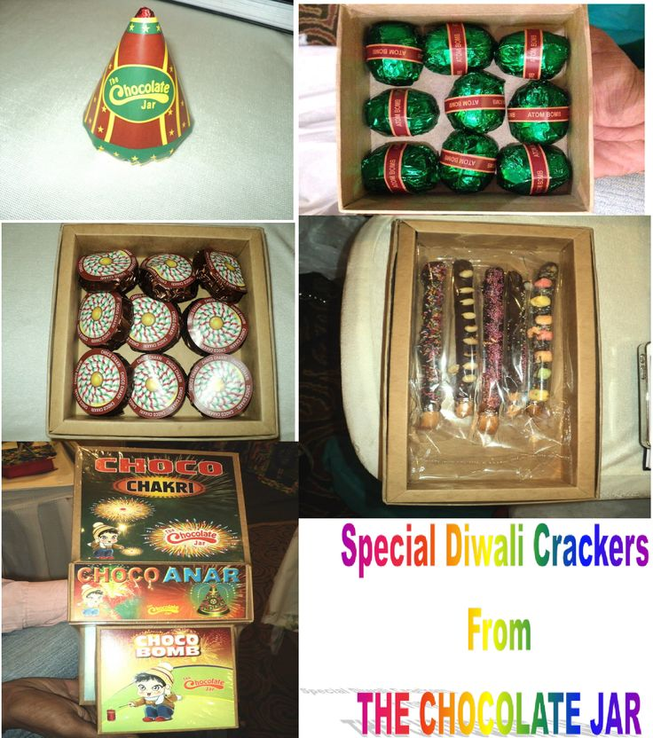 Chocolate Diwali Crackers:-)