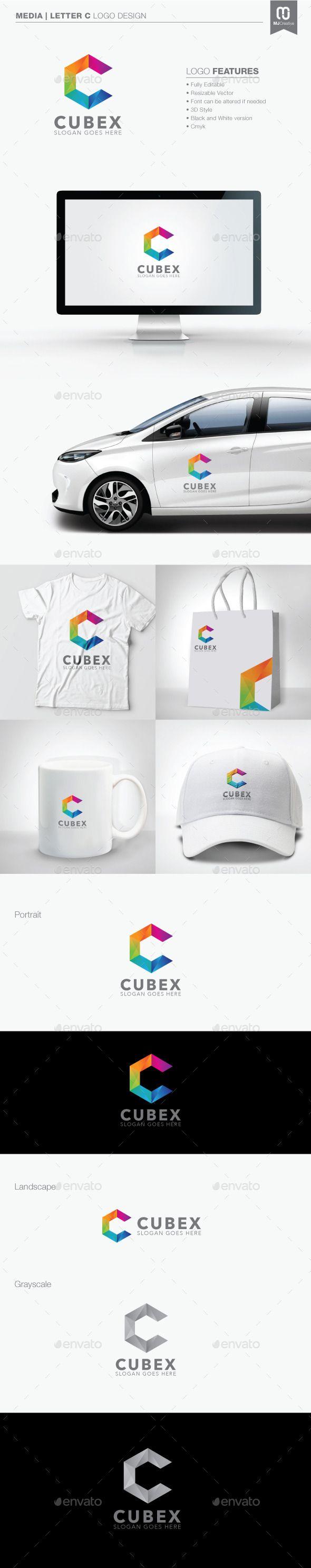Polygon Letter C Logo