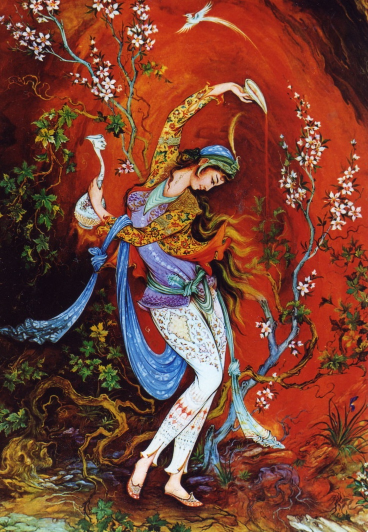 Persian dancer