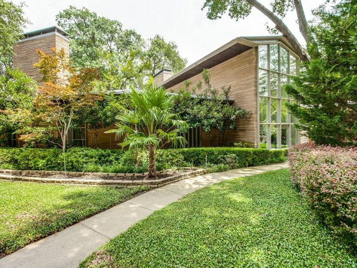 The Grady Vaughn House, A Midcentury Modern Masterpiece At 5350 South  Dentwood Drive In Dallas, Hits The Market. Modern Homes ...