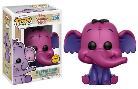 Winne the Pooh: Pink Heffalump chase variation Pop figure by Funko