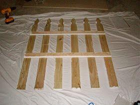 Obertopia: Super Easy Picket Fence Headboard