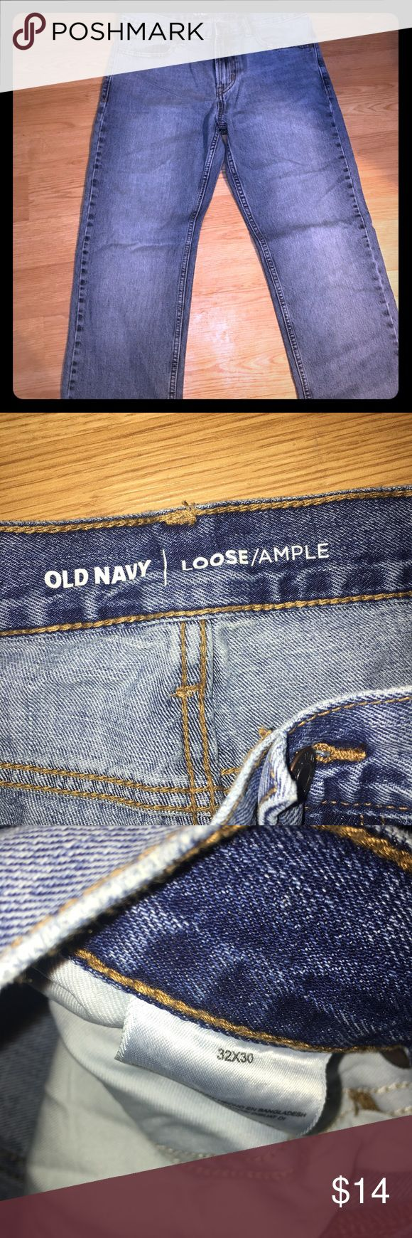Old Navy loose fit jeans In excellent condition! Old Navy Jeans Relaxed