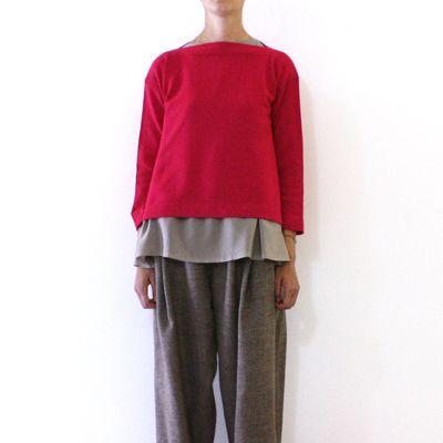 Daniela Gregis knitted boatneck sweater