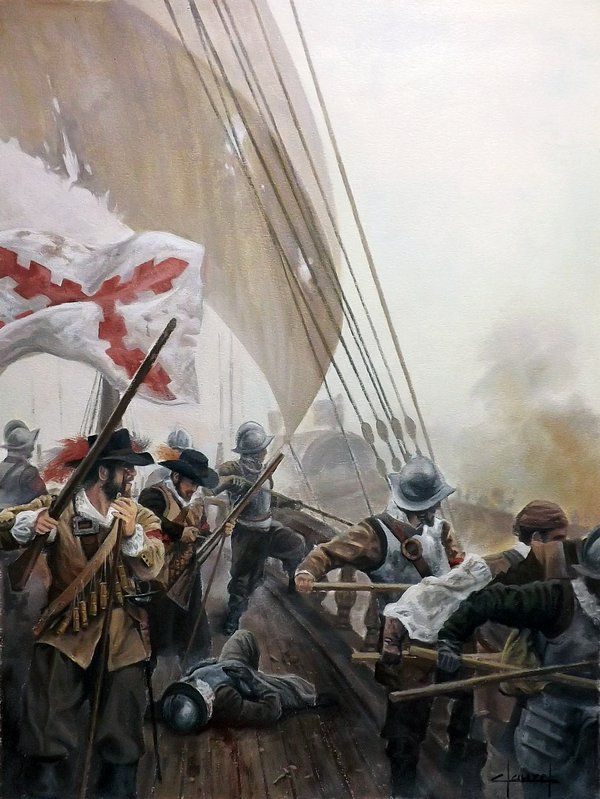 Batalla naval tercios.